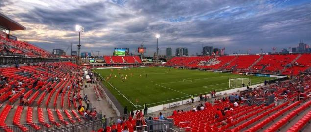 The BMO Stadium, home of the Canada national team.