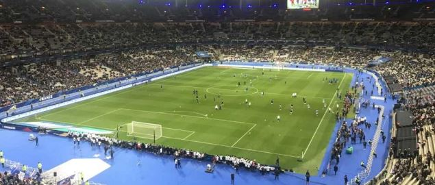 The Stade de France, home of the France national team.